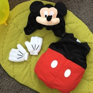 NWOT Disney Store Mickey Mouse Costume 12-18 mos